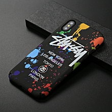 paint pattern luminous back case for iphone xs max