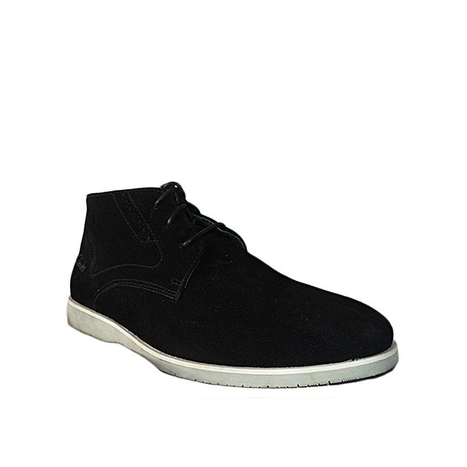 À Derbies Lacets Homme Daim Chaussures Montante En Clarks 41wSq64