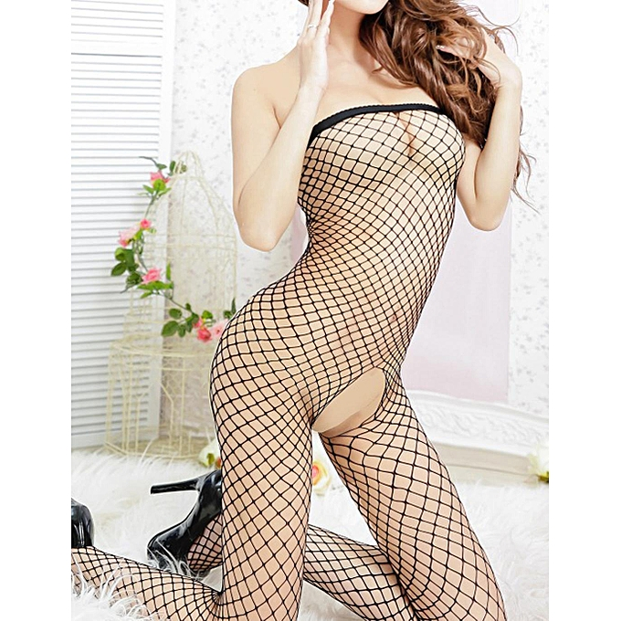 sunshine femmes bodystocking lingerie sexy mesh net ouvert entrejambe sous v tements body array. Black Bedroom Furniture Sets. Home Design Ideas