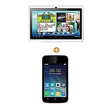 itel 6910+tablette educative- 7 pouces - 8 go - 1 go ram android 5.1 - multicolore