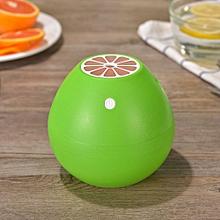 jiahsyc store 400ml grapefruit-shaped humidifier silent mini fruit humidifier gn-green