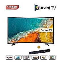 tv led incurvée - 32 pouces hd - ultra fin - décodeur intégré - noir - garantie 12 mois