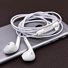 1pcs headset earphone with mic volume adjustable for iphone 8 7 6 6s5 5s 4 4s 4g /samsung ht