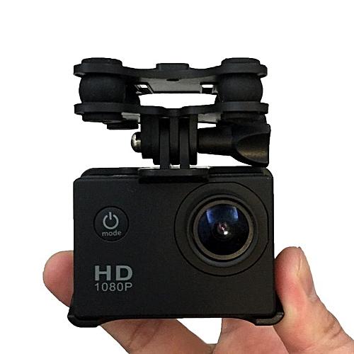 neworldline sj gopro xiaoyi camera holder with gimble gimbal for syma x8c x8g x8w rc quadcopter. Black Bedroom Furniture Sets. Home Design Ideas