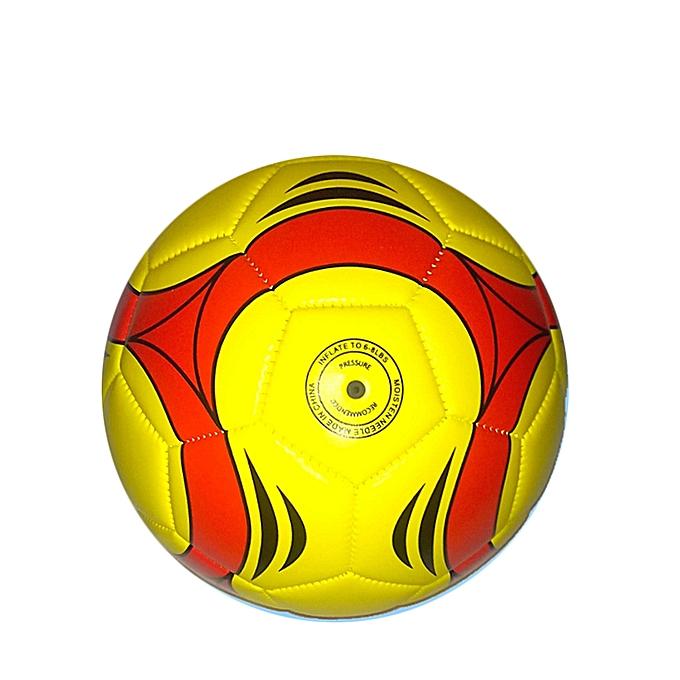 Sans marque Ballon De Football  – Jaune au Côte d'Ivoire à prix pas cher  | Promotion  Anniversaire