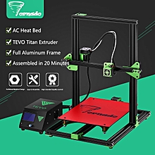 110v diy 3d printer kit large printing size 1.75mm 0.4mm nozzle 300*300*400mm