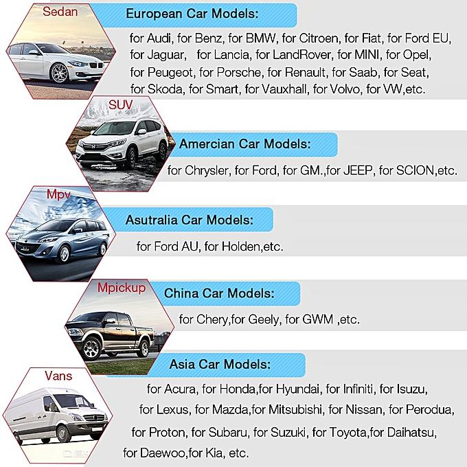 UCANDAS VDM WIFI OBD2 Automotive Scanner V4 1 Full System Auto Diagnostic  Tool Multi-Language OBDII Car Scanner Update