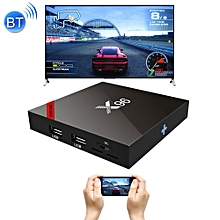 x96_s905w 4k hd smart tv box player with remote controller, android 7.1.2 amlogic s905w quad core arm cortex a53 @2ghz, 2gb+16gb, support bluetooth & wifi & tf card(black)