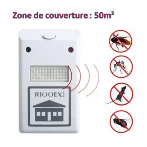 riddex plus appareil lectronique par ultrason repousseur d 39 insectes et souris blanc acheter. Black Bedroom Furniture Sets. Home Design Ideas
