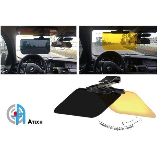 ULTRA HD-VISION Pro Pare Soleil Auto Anti-reflet / Anti-éblouissement  - Noir/Jaune