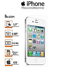 apple iphone 4s refurbished phone 3.5'' 16gb 8mp smart phone - white/black