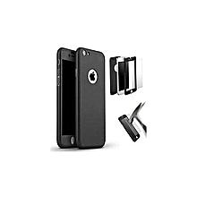 coque compatible iphone 6 plus 360º + antichoc - noir