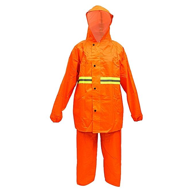No brand Imperméable  Pour Aldulte  – Orange au Côte d'Ivoire à prix pas cher  | Promotion  Anniversaire