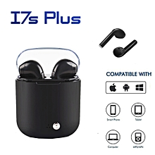 i7s plus tws mini bluetooth v4.2 wireless stereo in ear noise cancellation earbuds with mic for iphone samsung xiaomi huawei xyx-k