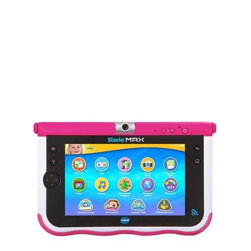 Vtech tablette storio max 7 pouces rose acheter en for Housse storio max 7