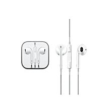 écouteurs compatible pour iphone & android - blanc