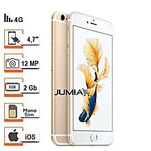 iphone 6s - 4.7 pouces - 4g lte - 64go rom- 2go ram- 12mpx - or + protège offert- reconditionné - garantie 12 mois