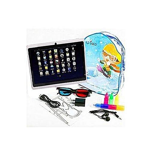 Coloriage Flash Macuine Gratuit.Tablette Enfant Q66 Sac A Dos Tableau De Coloriage Gratuit Jeux Educatifs Pre Installes