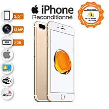 iphone 7 plus - 4g lte - 32go rom - 2ram - gold - garantie 3 mois - reconditionné