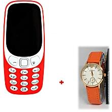3310 (2017) - dual-sim - 2 mégapixels - noir +1 montre + 1 ecouteur bluetooth-offerte