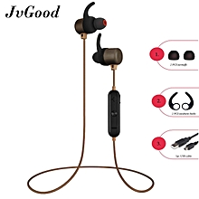 wireless earbuds bluetooth headphones sport in-ear sweatproof earphones magnetic noise cancelling headsets (super sound quality bluetooth 4.1, 5 hours play time) ht