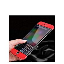 coque de protection compatible iphone 7 plus 5.5 pouces - rouge