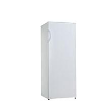congelateur vertical hs-208f - 5 tiroirs - 185 litres - blanc/gris- garantie 12 mois