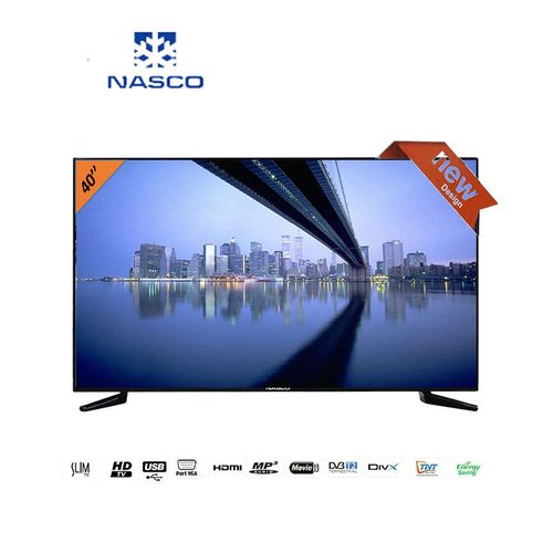 nasco tv led 40 pouces hdmi usb vga d codeur int gr. Black Bedroom Furniture Sets. Home Design Ideas