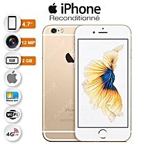 iphone 6s - 4.7 pouces - 4g lte - 12 mégapixels - ios - 16go rom - 2 go ram- or/ article reconditionné - garantie 3 mois
