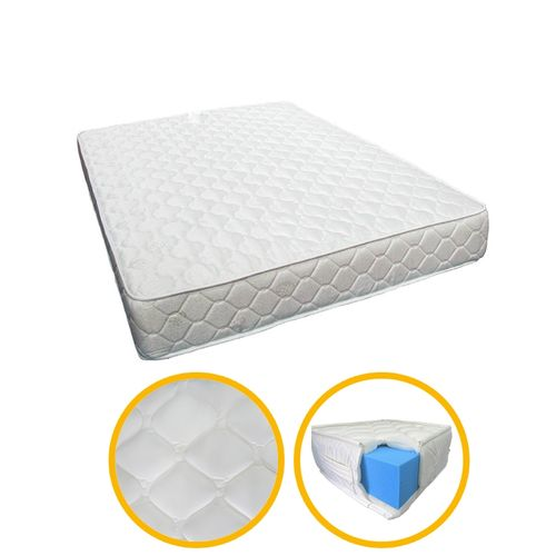 confort matelas orthop dique confort 2 places paisseur 18 beige acheter en ligne. Black Bedroom Furniture Sets. Home Design Ideas