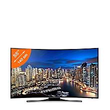 smart tv incurvée - 55 pouces - ultra hd 4k - noir