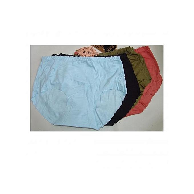 Sans marque Lot De 4 Culotte Slips Sans Trace Coton Dessous – Multicolore au Côte d'Ivoire à prix pas cher  |  Côte d'Ivoire