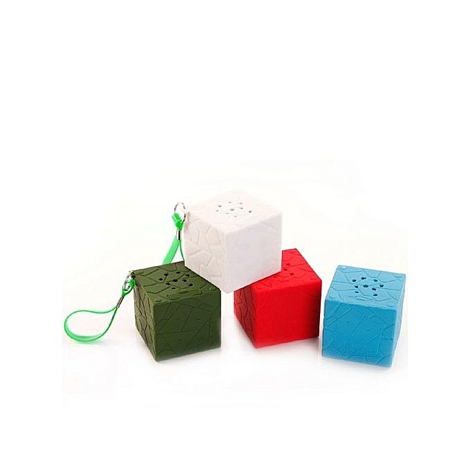 Generic Generic Mini Portable Cube Stereo Wireless Bluetooth Speaker For SmartPhone Tablet PC AG A1 au Côte d'Ivoire à prix pas cher  | Promotion  Anniversaire