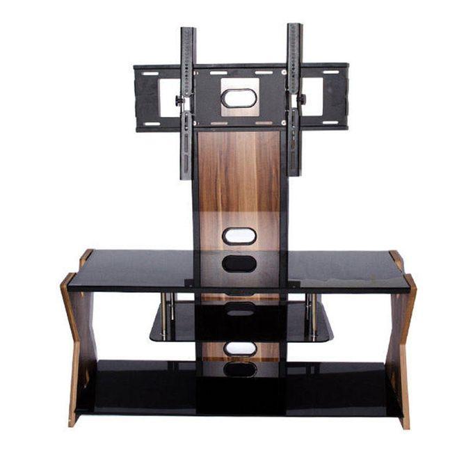 Sans marque meuble de support t l vision ts 1233 24 for Meuble tv 75 pouces