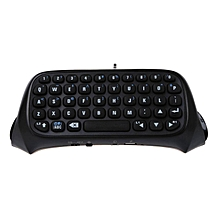 black bluetooth mini wireless chatpad message keyboard for sony playstation 4 ps4 controller bdz