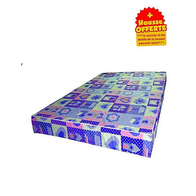 confort matelas 2 places mousse ph 2 epaisseur 13 cm housse offerte acheter en ligne. Black Bedroom Furniture Sets. Home Design Ideas