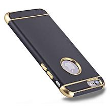 coque de protection pour iphone 6 & 6s - noir- jgci