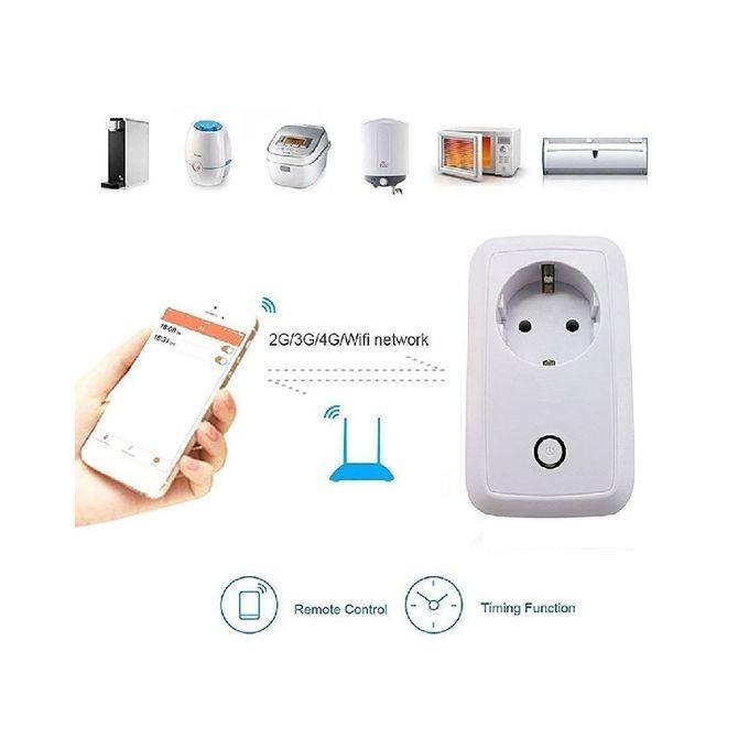 accessoire electro prise connect e wifi blanc acheter en ligne jumia c te d 39 ivoire. Black Bedroom Furniture Sets. Home Design Ideas