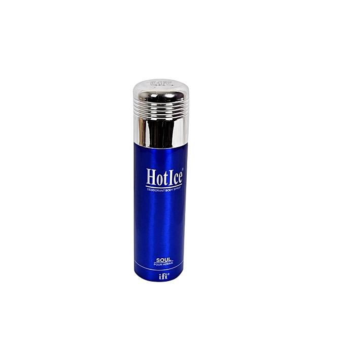 Sans marque Hot Ice Eau De Parfum 200 Ml – Bleu au Côte d'Ivoire à prix pas cher  | Promotion  Anniversaire