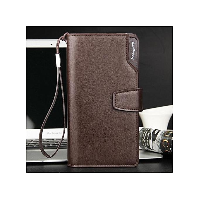 fashion portefeuille en simili cuir pour homme marron prix pas cher jumia ci. Black Bedroom Furniture Sets. Home Design Ideas