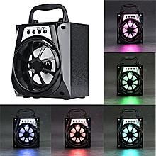 bacbity outdoor bluetooth wireless portable speaker super bass with usb/tf/aux/fm radio