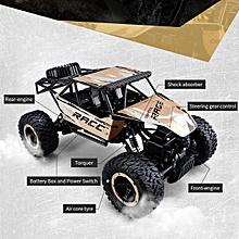2.4g télécommande 4wd 1:14 rc monster truck véhicule tout-terrain buggy crawler car blue