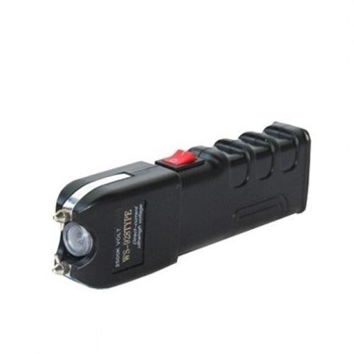 Taser Shocker à Impulsion électrique 25.000 KVA Avec Lampe LED - Noir