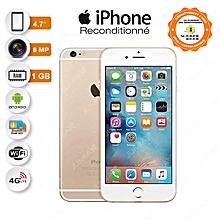 iphone 6 - 4.7 pouces - 1 go ram - 16 go - 8 mp - 4g - or - reconditionné - garantysmart 3 mois