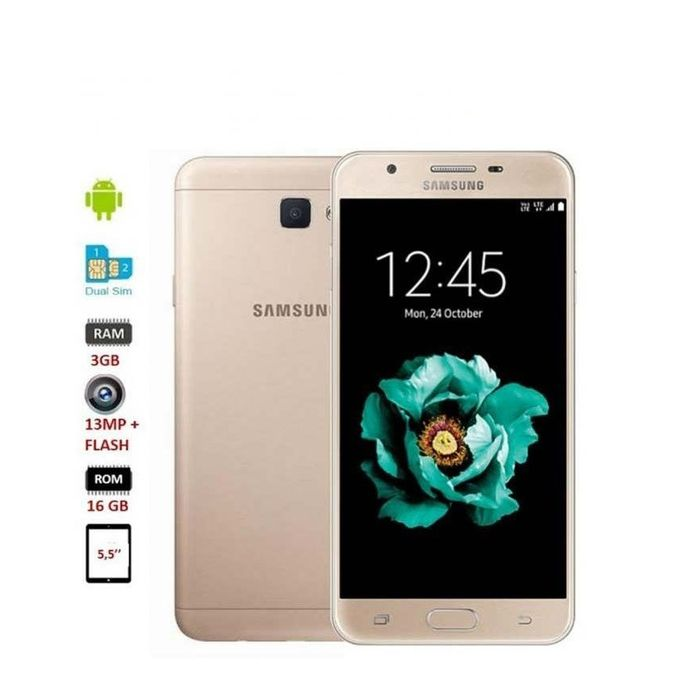 samsung j7 prime sm g610f 5 5 pouces dual sim 16go rom 3gb ram fingerprint scanner. Black Bedroom Furniture Sets. Home Design Ideas