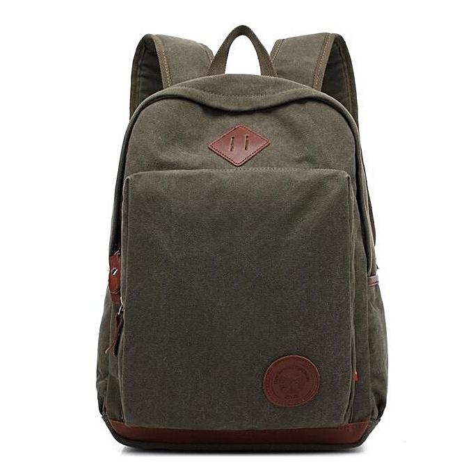 Generic Nice Canvas Travel Backpack Large-Capacity Leisure Man Shoulder Bag au Côte d'Ivoire à prix pas cher     Côte d'Ivoire
