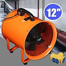 ventilateur  - 12'' - noir / orange - jgci