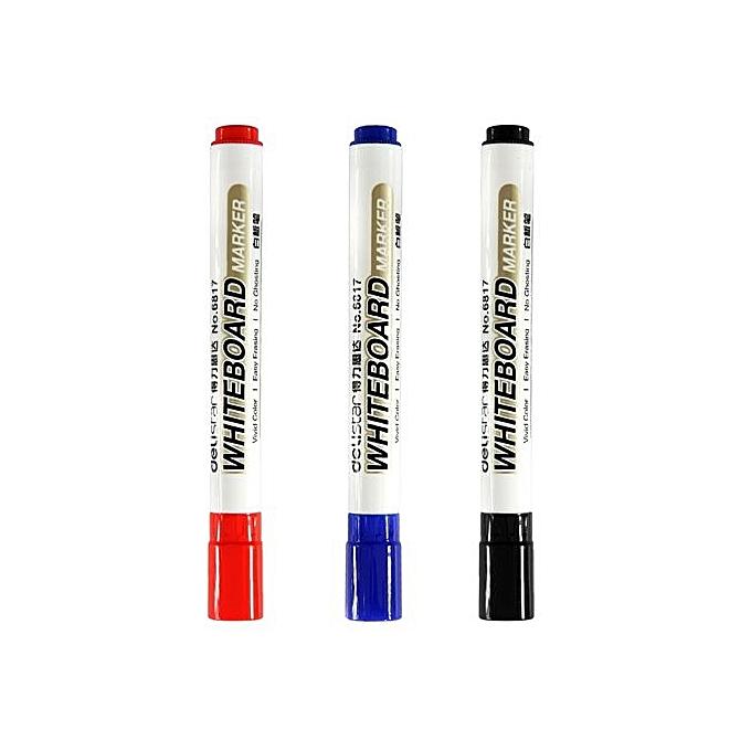 Delistar 6817 Whiteboard Marker With Antiskid Cap Design