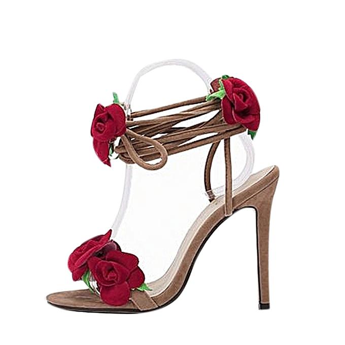 5f457593a9b902 Fashion Paire De Sandales A Talons Hauts Pour Femme - Prix pas cher ...