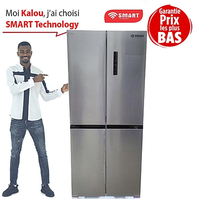 SMART TECHNOLOGYRéfrigérateur Américain De Luxe – STR-888S – 465 Litres –  Inox – Garantie 03323792fa8e